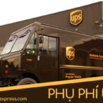Phụ phí nhiên liệu UPS