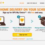 UPS My Choice mở rộng thêm 96 quốc gia
