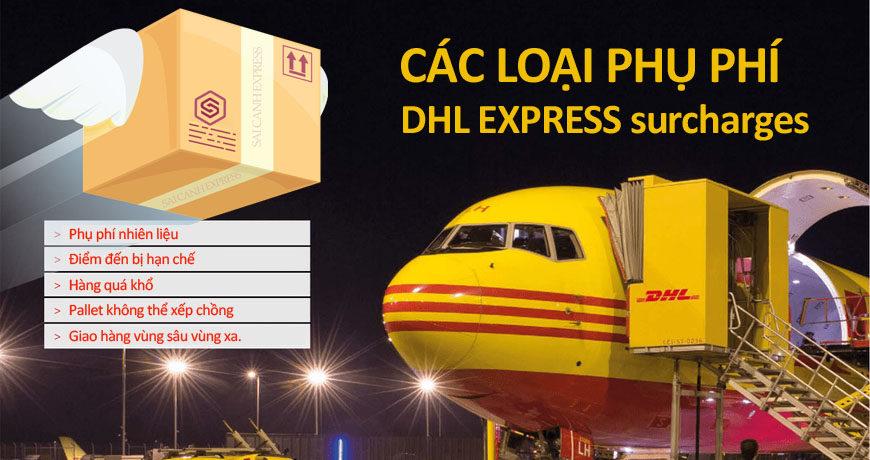 Phụ phí DHL Express