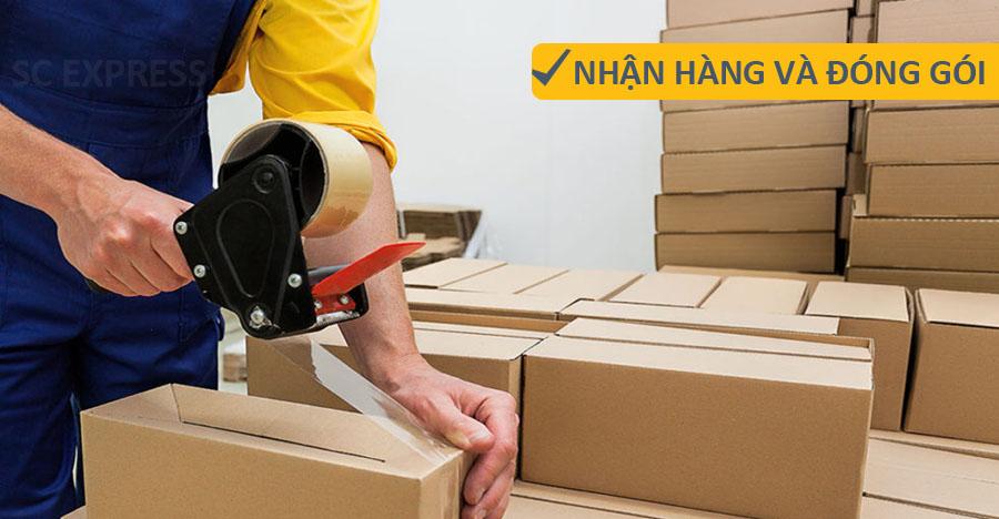 Quy cách đóng gói hàng chuyển phát quốc tế