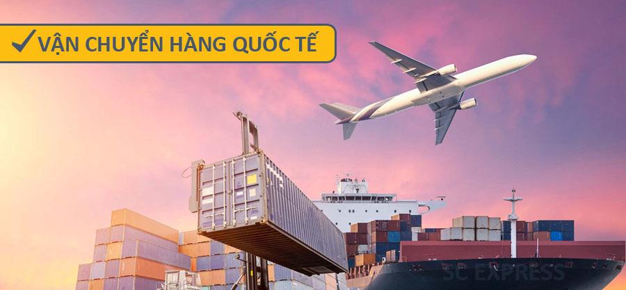 Vận chuyển hàng hóa quốc tê