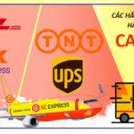 Các hãng vận chuyển hàng hóa đi Canada
