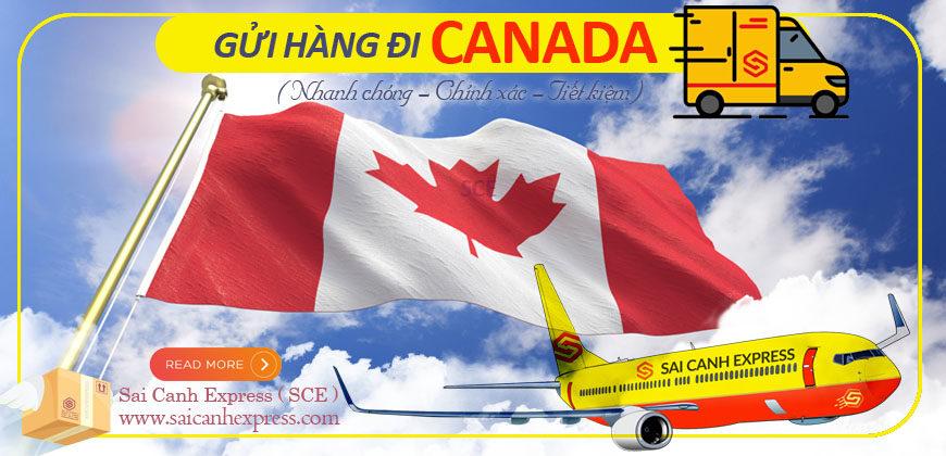 Gửi hàng giá rẻ đi Canada