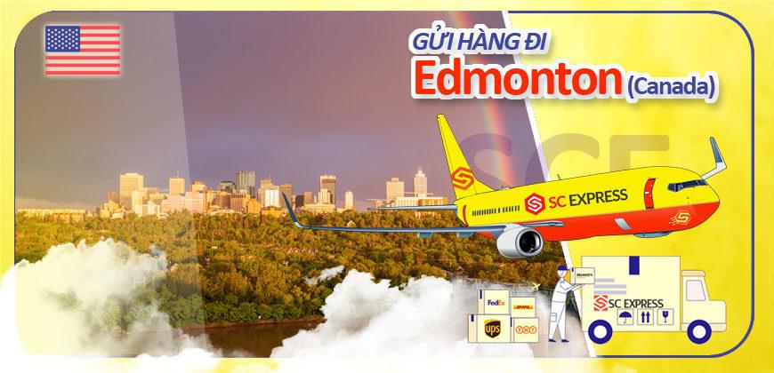 Gui hang di Edmonton