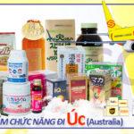 Gửi thực phẩm chức năng đi Úc