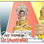 Gửi tượng đi Úc