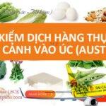 Phí kiểm dịch hàng hóa thông quan Úc (Australia)