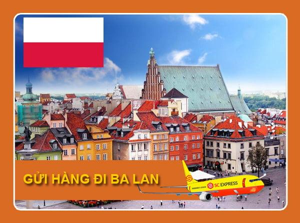 Gửi hàng đi Ba Lan giá rẻ