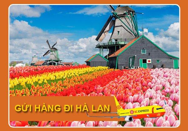 Gửi hàng đi Hà Lan giá rẻ