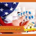 Gửi Thuốc Tây đi Mỹ