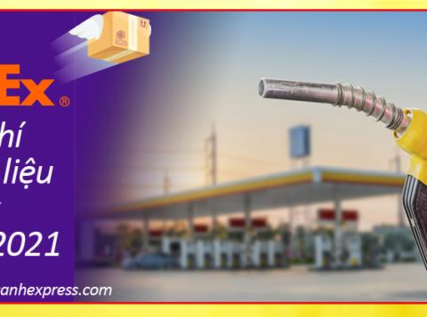 Phụ phí nhiên liệu FedEx năm 2021