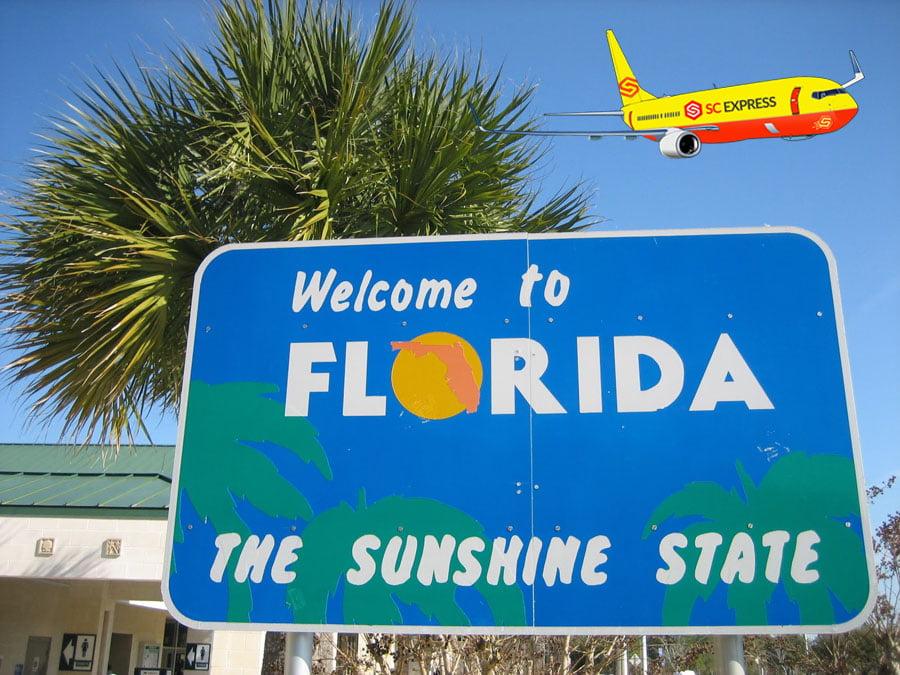 Chuyển phát nhanh đi Florida