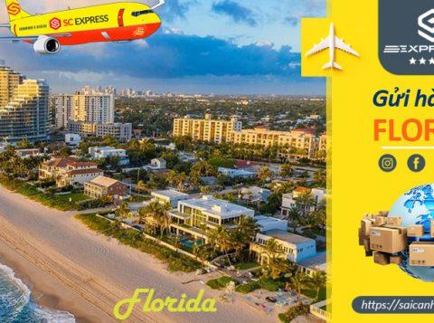 Vận chuyển hàng hóa đi Florida