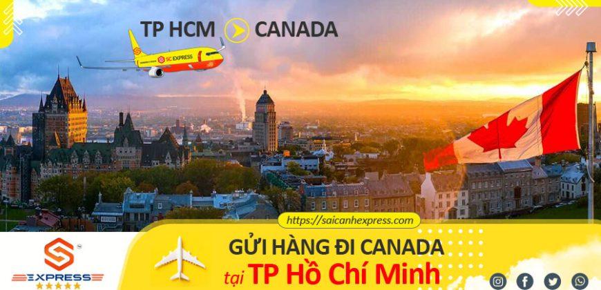 Gửi hàng đi Canada tại TP HCM