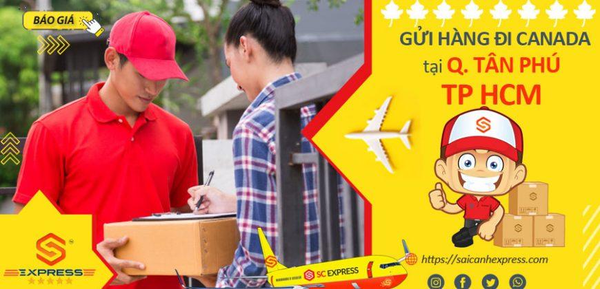 Gửi hàng đi Canada tại Quận Tân Phú