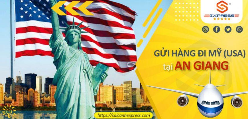 Gửi hàng từ An Giang đi Mỹ USA
