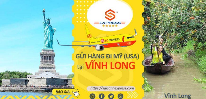 Gửi hàng đi Mỹ tại Vĩnh Long