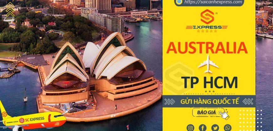 Gửi hàng đi Úc tại TP HCM