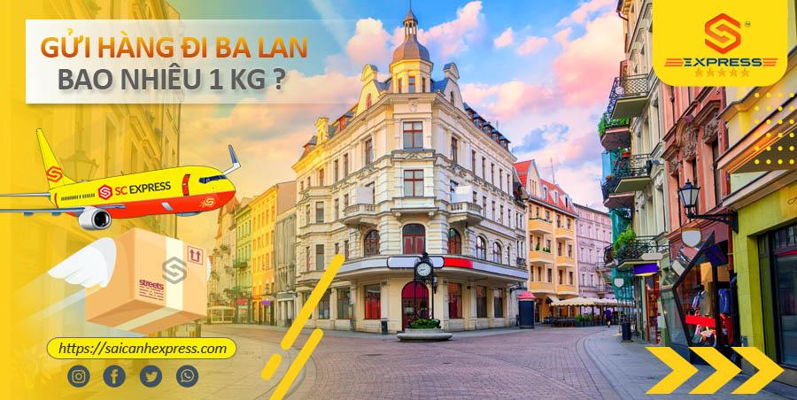 Bảng giá vận chuyển hàng hóa đi Ba Lan