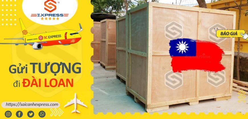 Gửi tượng đi Đài Loan