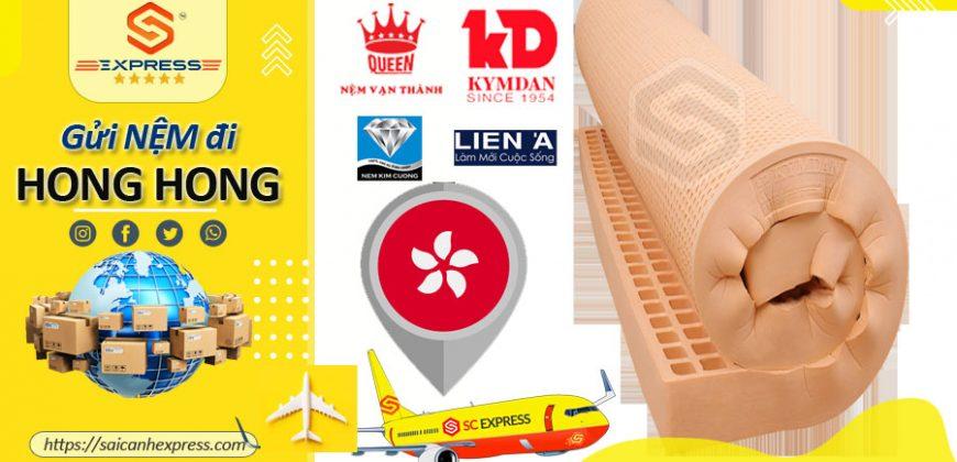 Gửi nệm đi Hong Kong