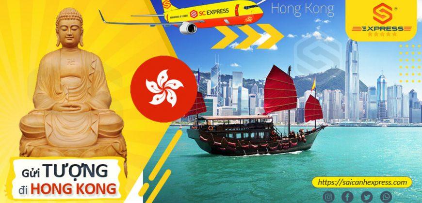 Gửi tượng đi Hong Kong